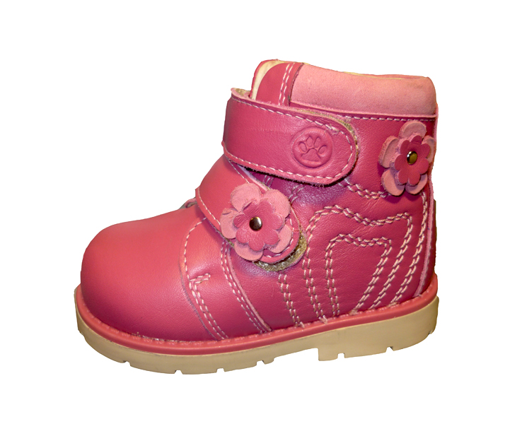 розовые ботиночки