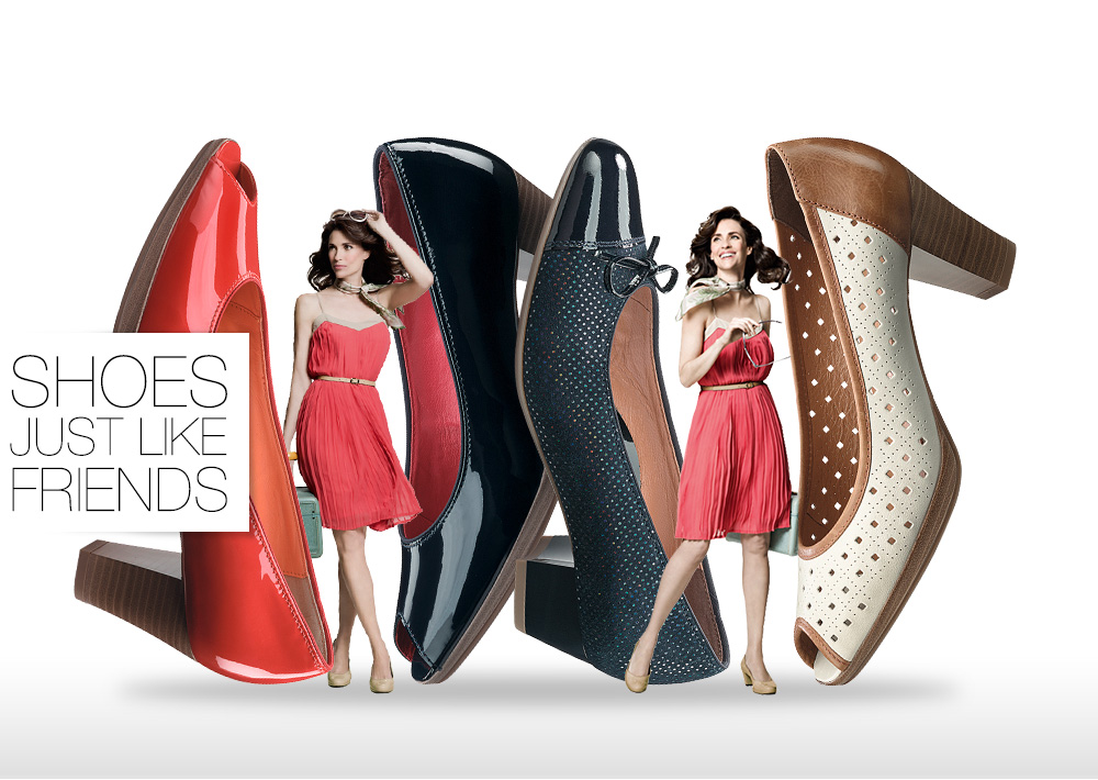 различные туфли