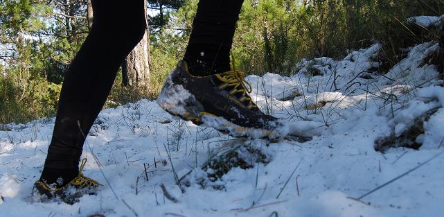 зимний бег